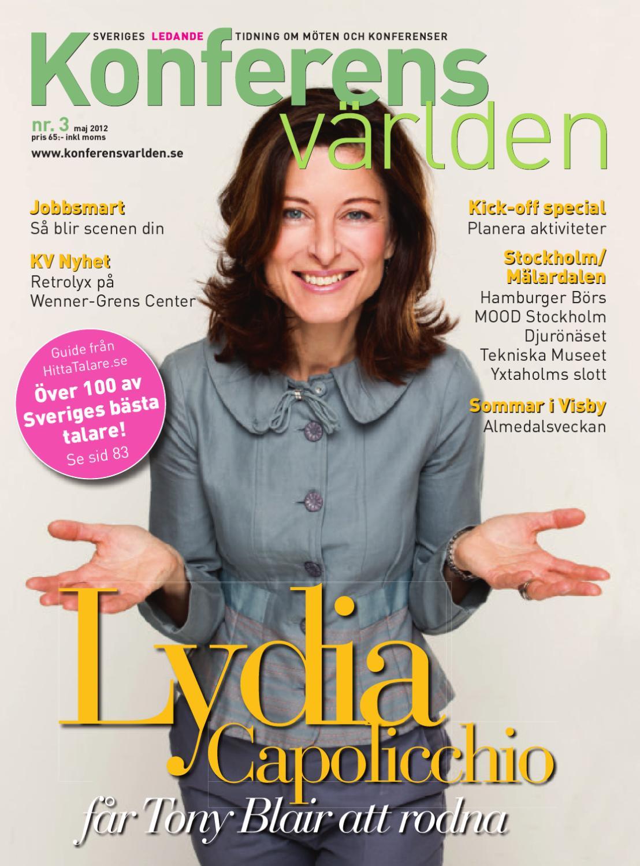 Konferensvärlden nr3   2012 by compro media   issuu