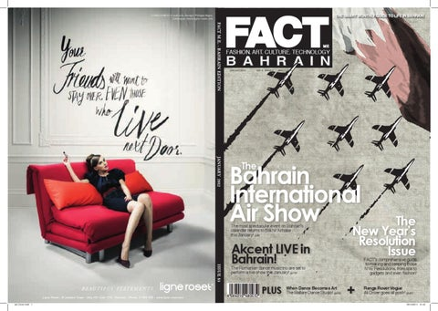 FACT Magazine Bahrain January 2012
