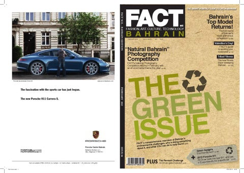 FACT Magazine Bahrain February 2012