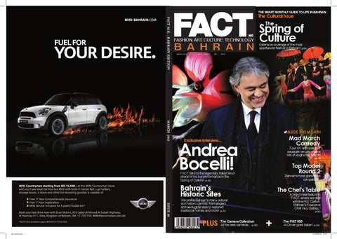 FACT Magazine Bahrain March 2012