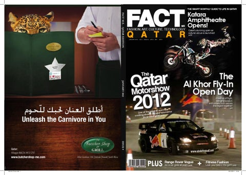 FACT Magazine Qatar January 2012