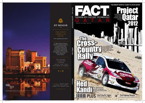 FACT Magazine Qatar April 2012