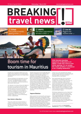 Breaking Travel News Special Edition - ITB Berlin 2012 Day 1