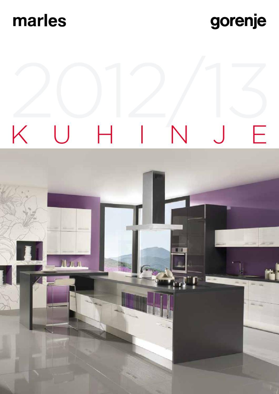 katalog gorenje kuhinje 2012 2013 by gorenje d d issuu. Black Bedroom Furniture Sets. Home Design Ideas