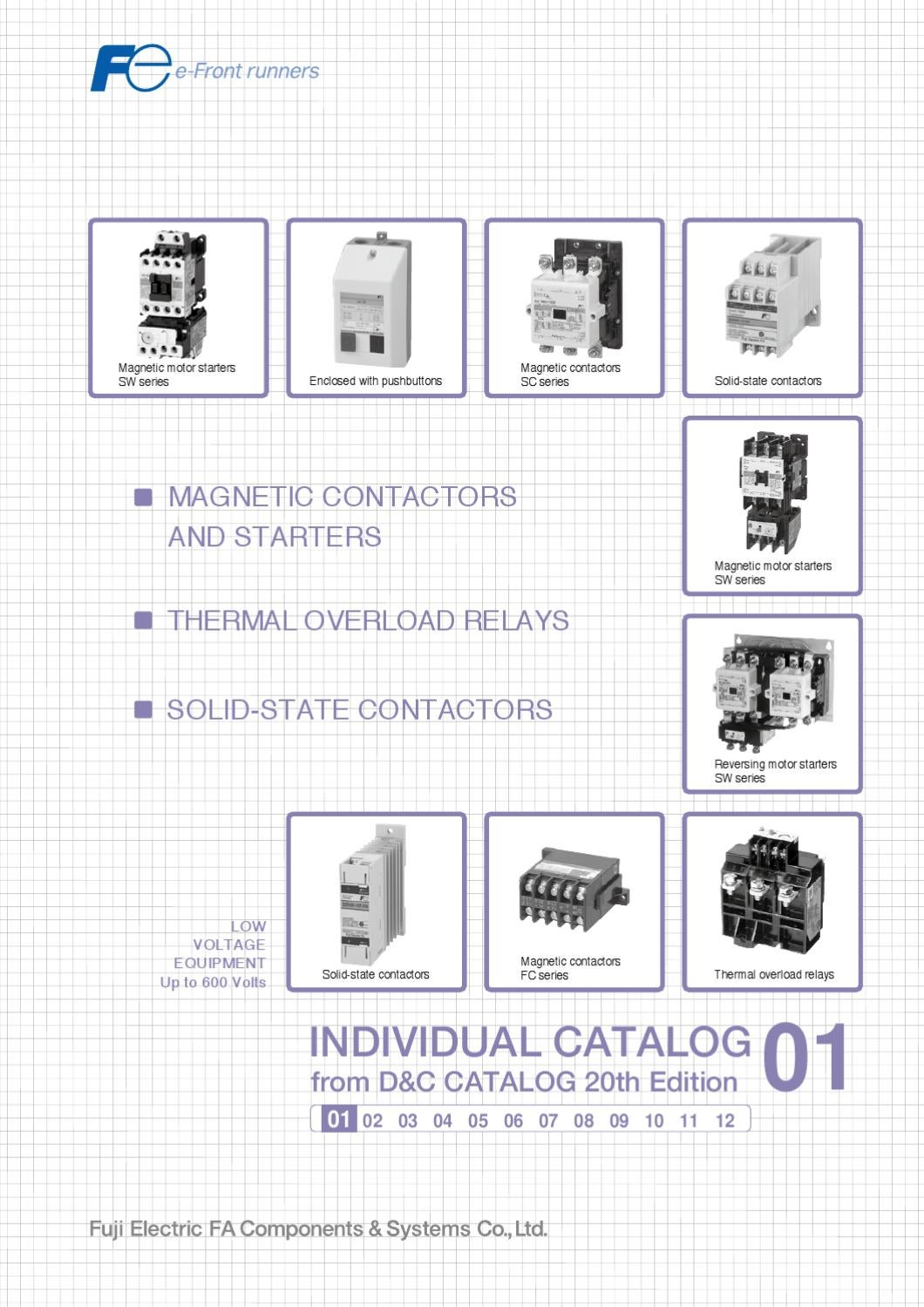 Magnetic Contactorsand Starters By S T Control Co   Ltd