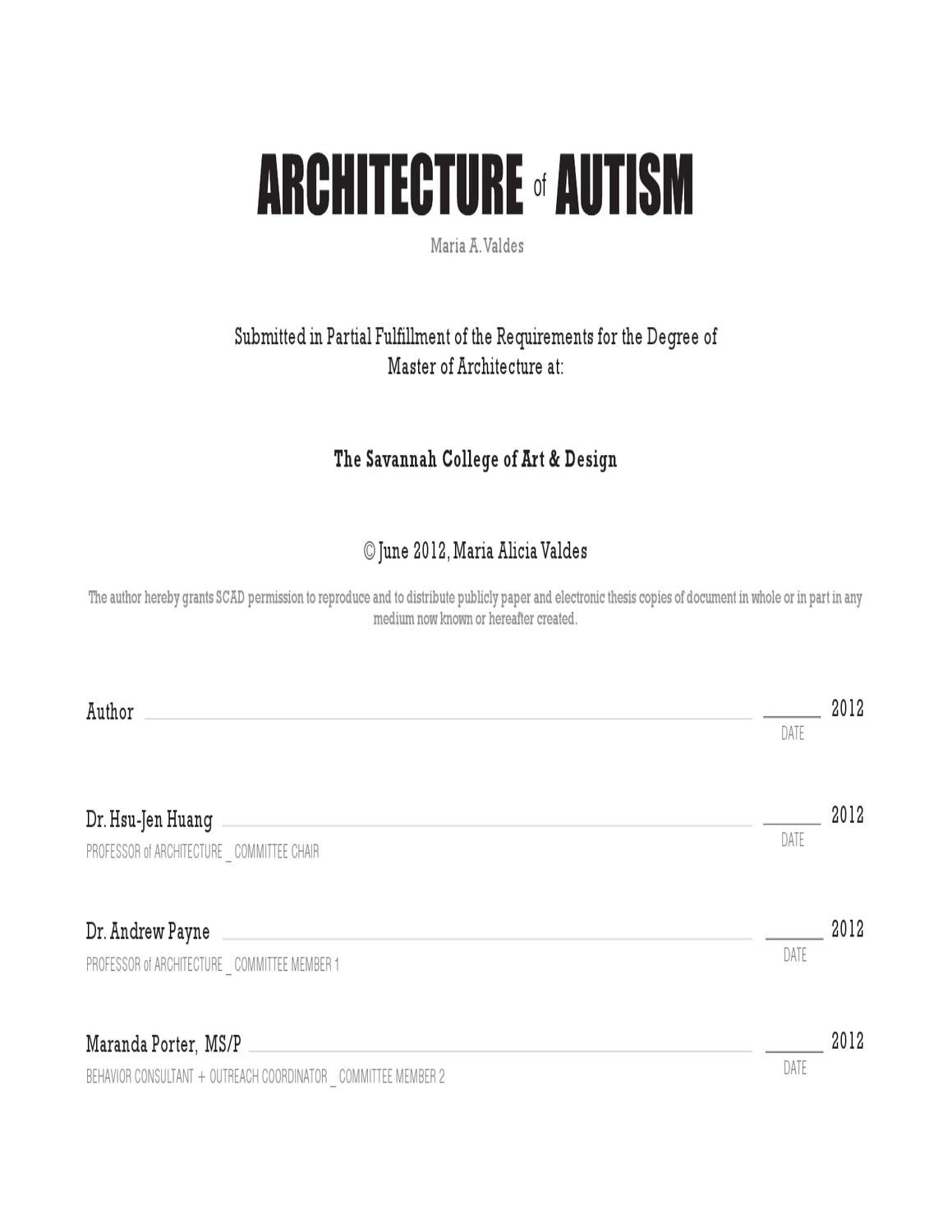 Autism essays conclusions