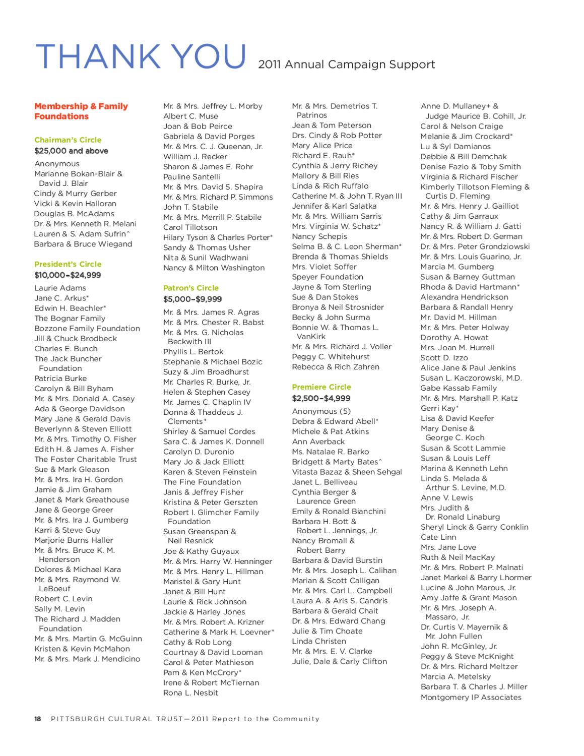 report to the community by the pittsburgh cultural trust 2011 report to the community by the pittsburgh cultural trust page 20 issuu