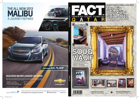 FACT Magazine Qatar June 2012