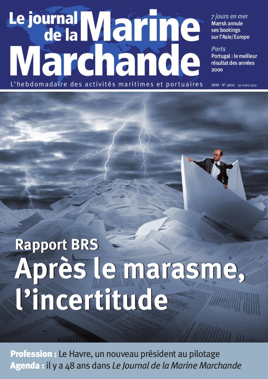 Le journal de la marine marchande by isabelle besson for Le journal de la