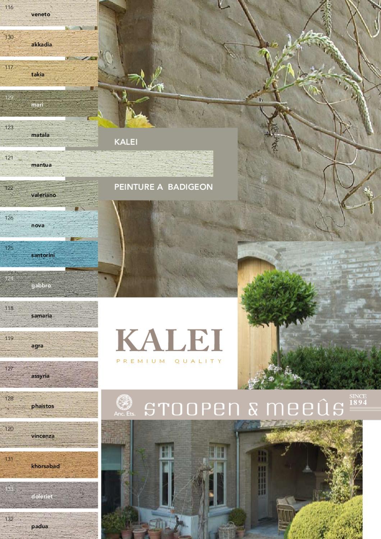 Kalei Kleuren By Bio Home Cvba Issuu