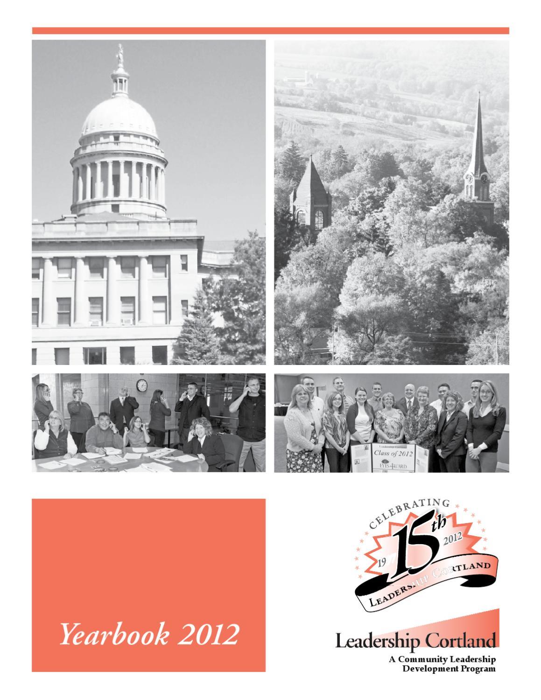2013 leadershiptompkinsyearbook by biz tompkins cortland leadership cortland yearbook 2012