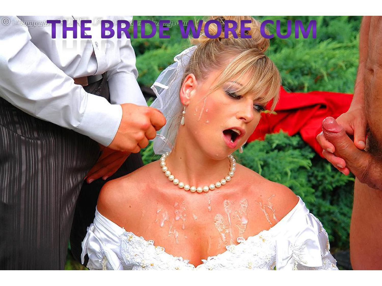 Сосет член в свадебном платье 13 фотография