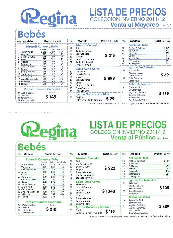 Cobertores regina 2012 listas de precios by issuu - Cobertores de piscinas precios ...