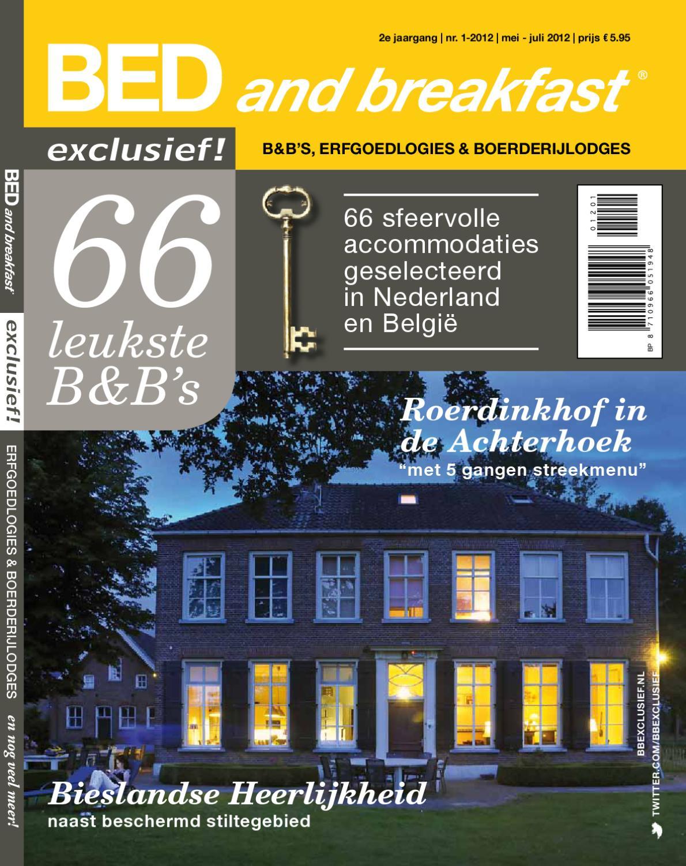 Bed and breakfast exclusief by uitgeverij interdijk   issuu