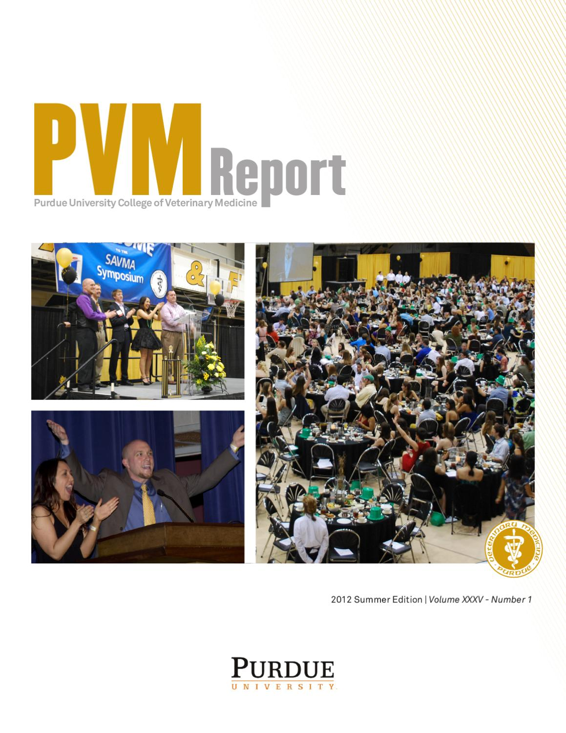 pvm report 2011 annual report by purdue university issuu pvm report 2012 summer report