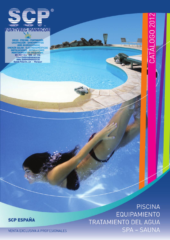 Catalogo piscinas scp filtro limpiafondo cloro bomba for Nivel de cloro en piscinas