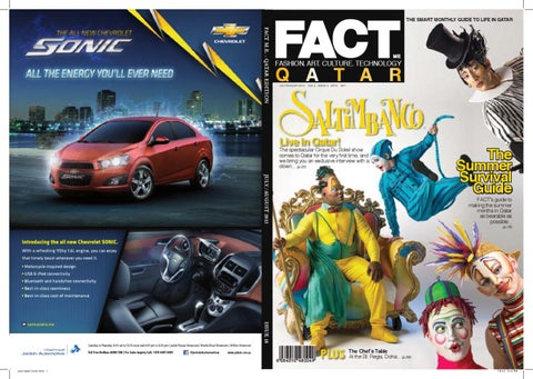 FACT Magazine Qatar July + August 2012