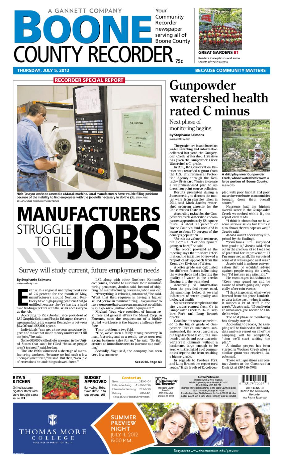 boone community recorder by enquirer media issuu boone county recorder 070512