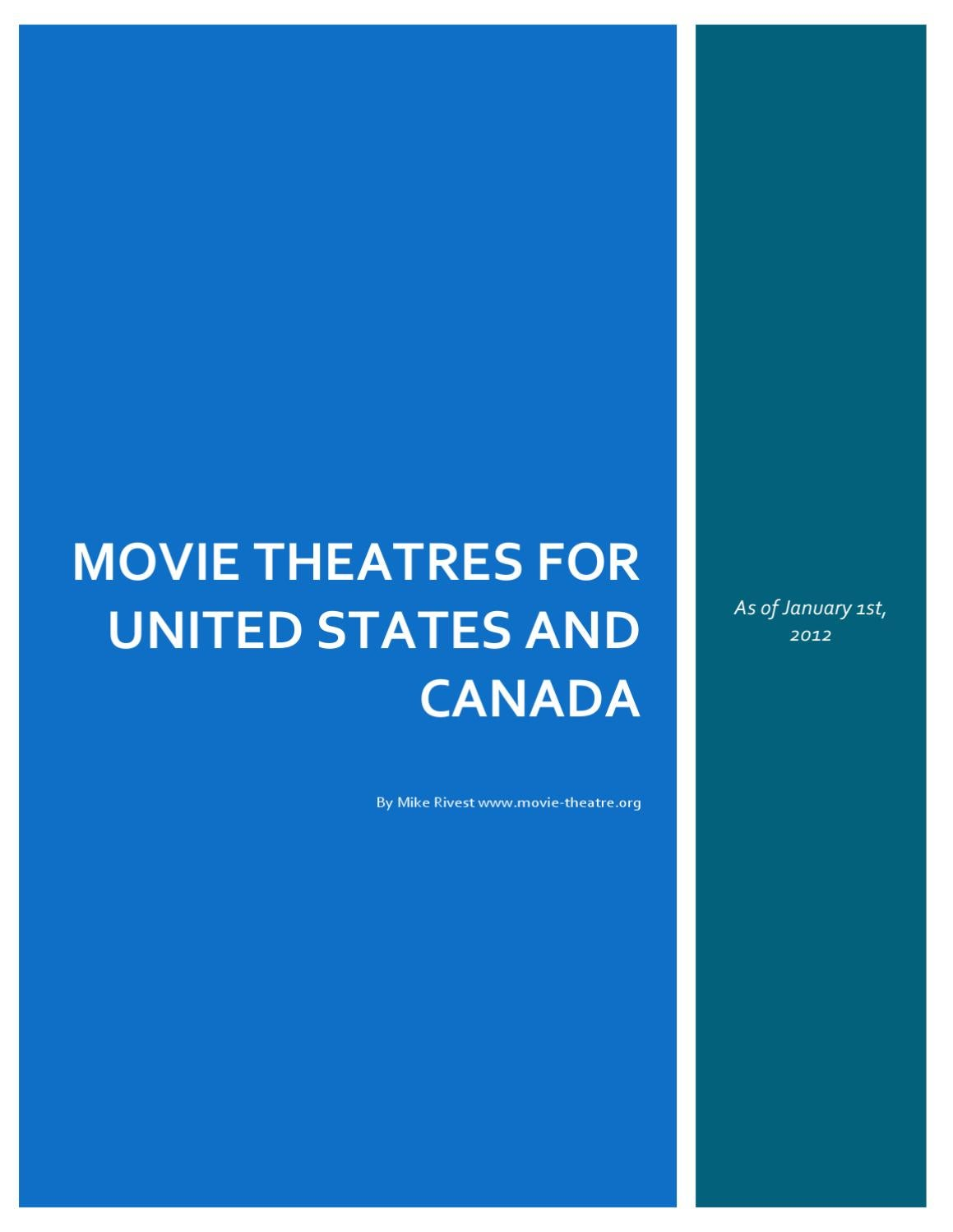 usa and cinemas by mike rivest issuu