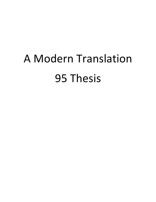 thesis tagalog translation