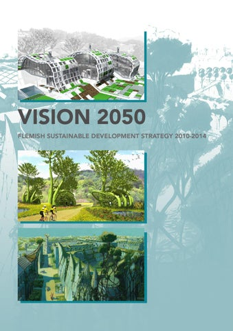 Vision 2050: Flemish Sustainable Development Strategy 2010-2014