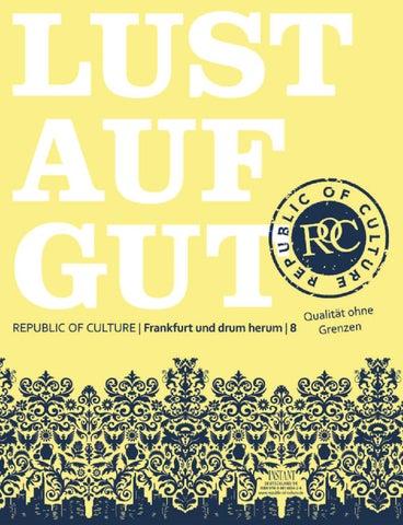 LUST AUF GUT Magazin | Frankfurt Nr. 8