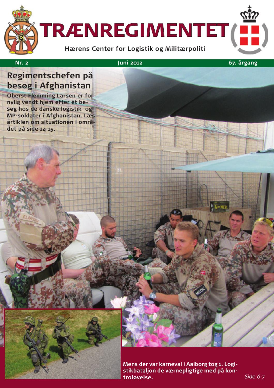 Regimentsblad nr. 2, 2012 by Traenregimentet - issuu