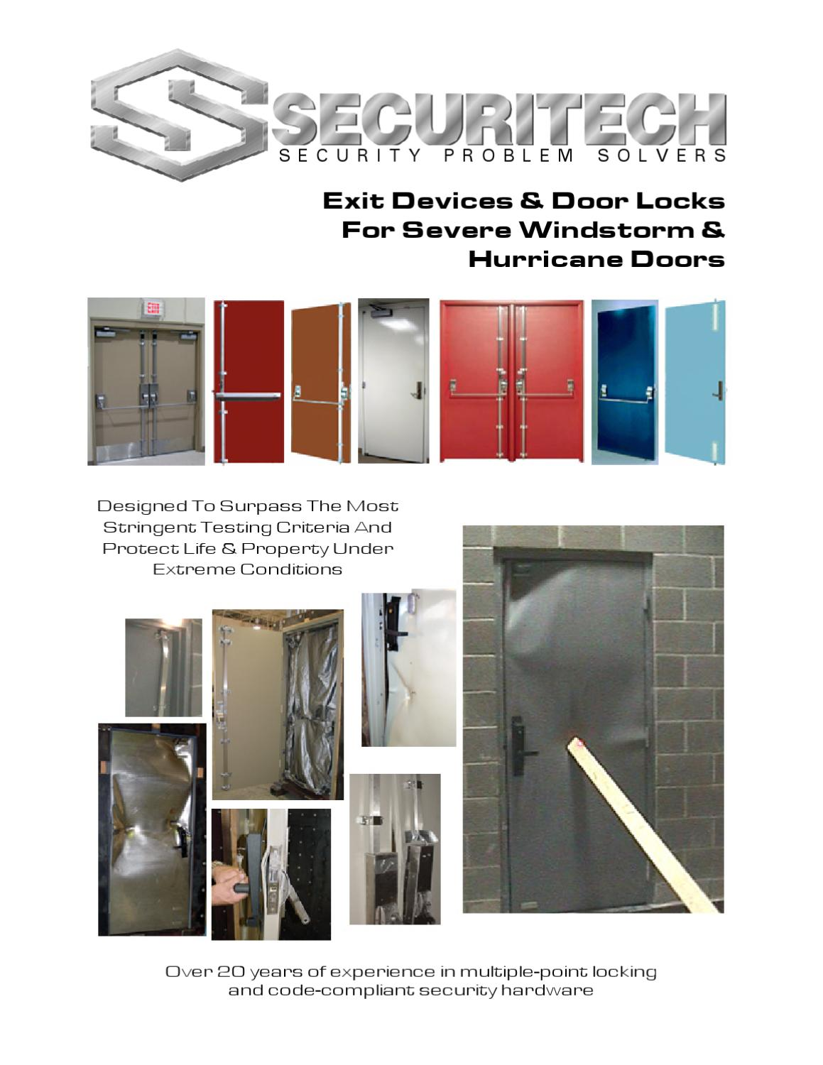 Windstorm Brochure 2012 By Securitech Group Inc Issuu