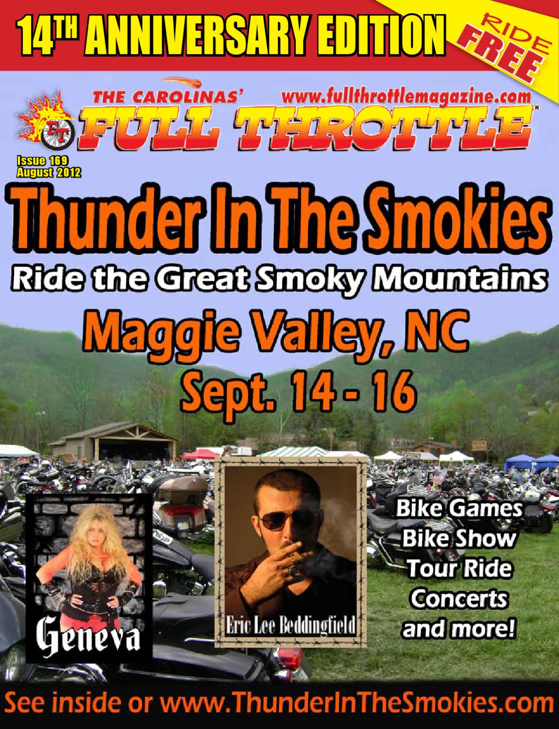 issue by the carolinas full throttle magazine 2012 issue 169 by the carolinas full throttle magazine issuu