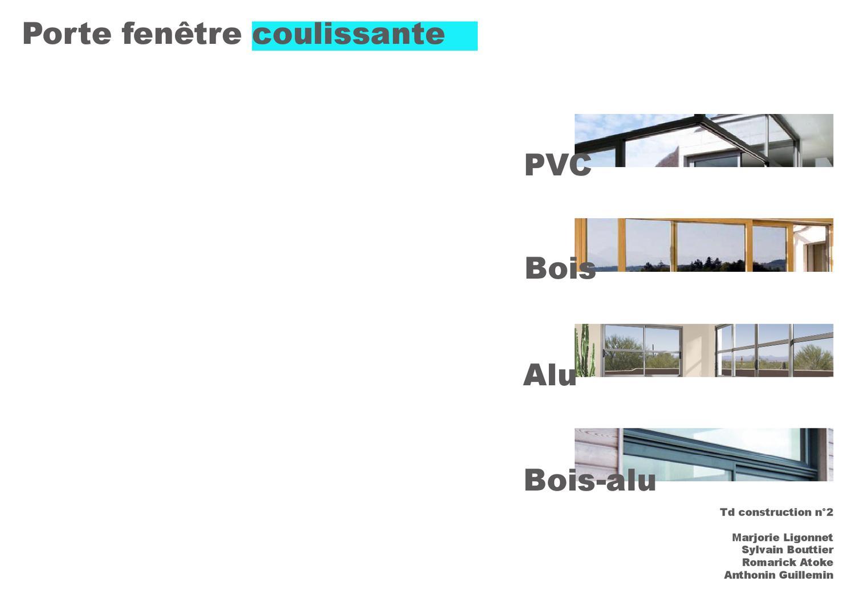 porte fen tre coulissante bois pvc aluminium bois alu by atoke romarick issuu. Black Bedroom Furniture Sets. Home Design Ideas