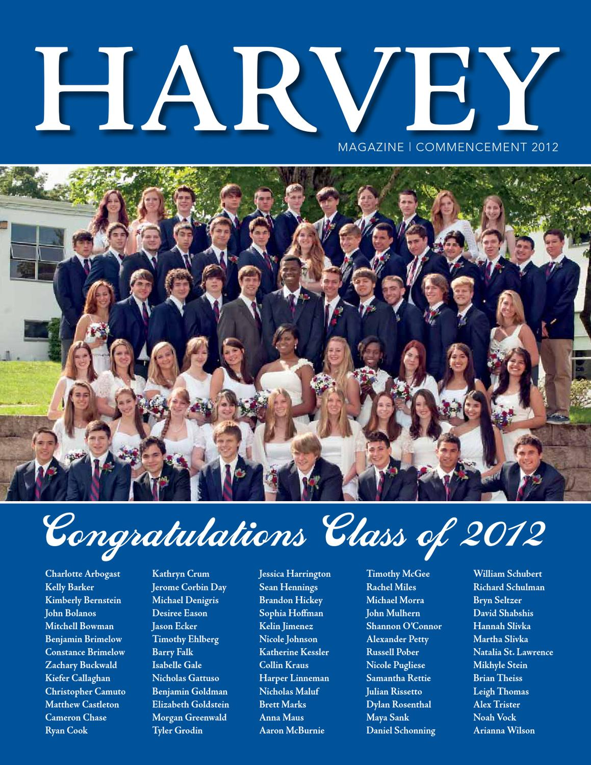 harvey magazine commencement by the harvey school issuu