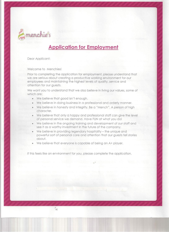 menchie s job application by john clayton issuu