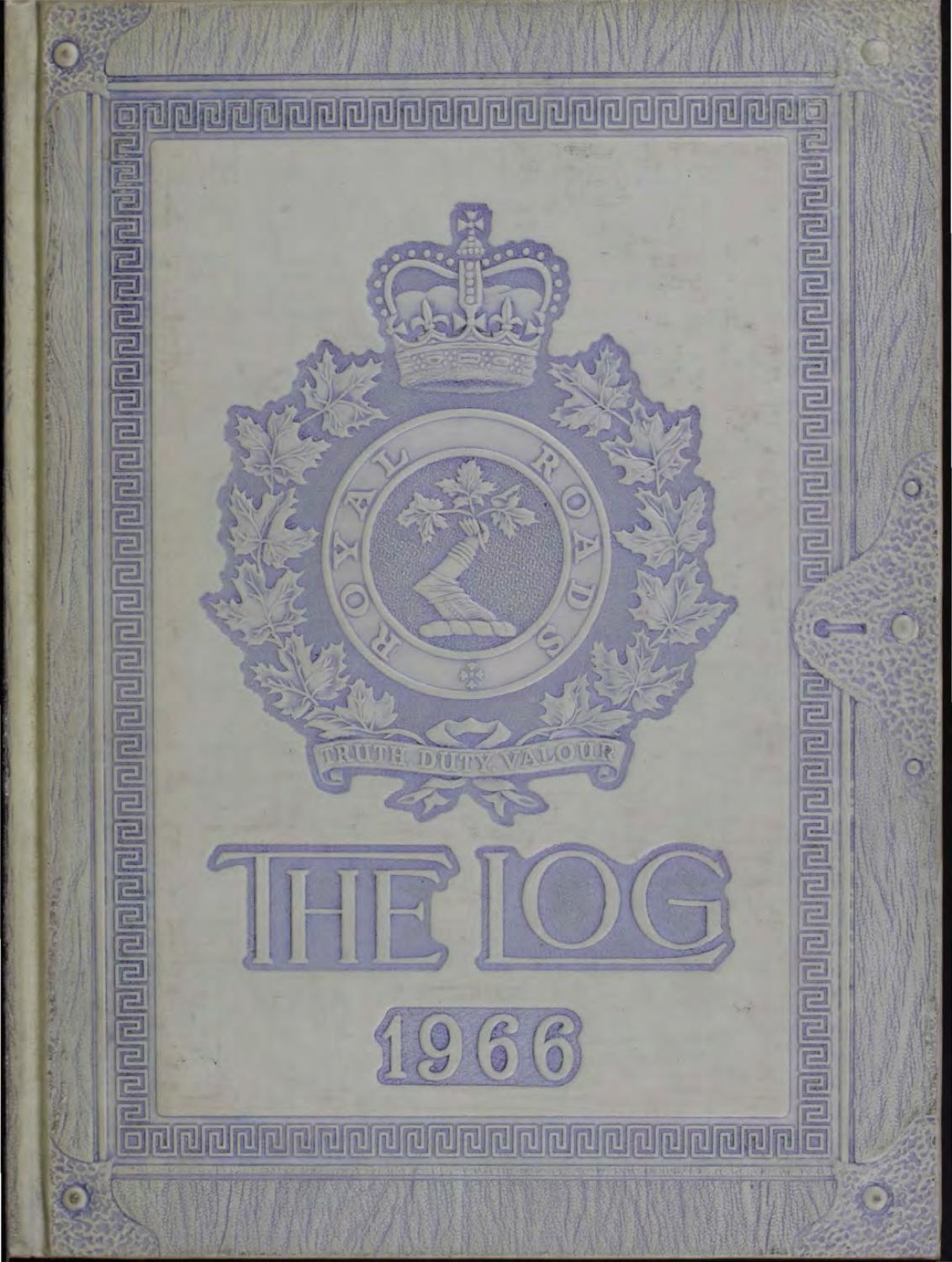 1966 Log Canadian Services College Royal Roads by Royal ...