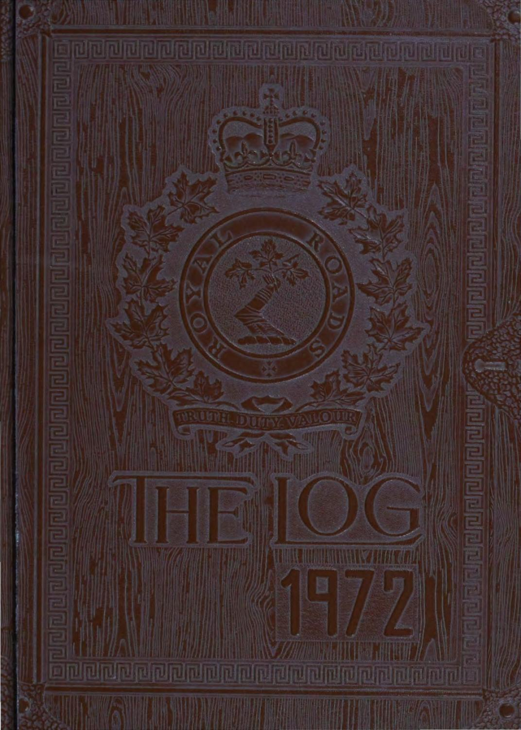 1972 Log Royal Roads Military College by Royal Roads ...