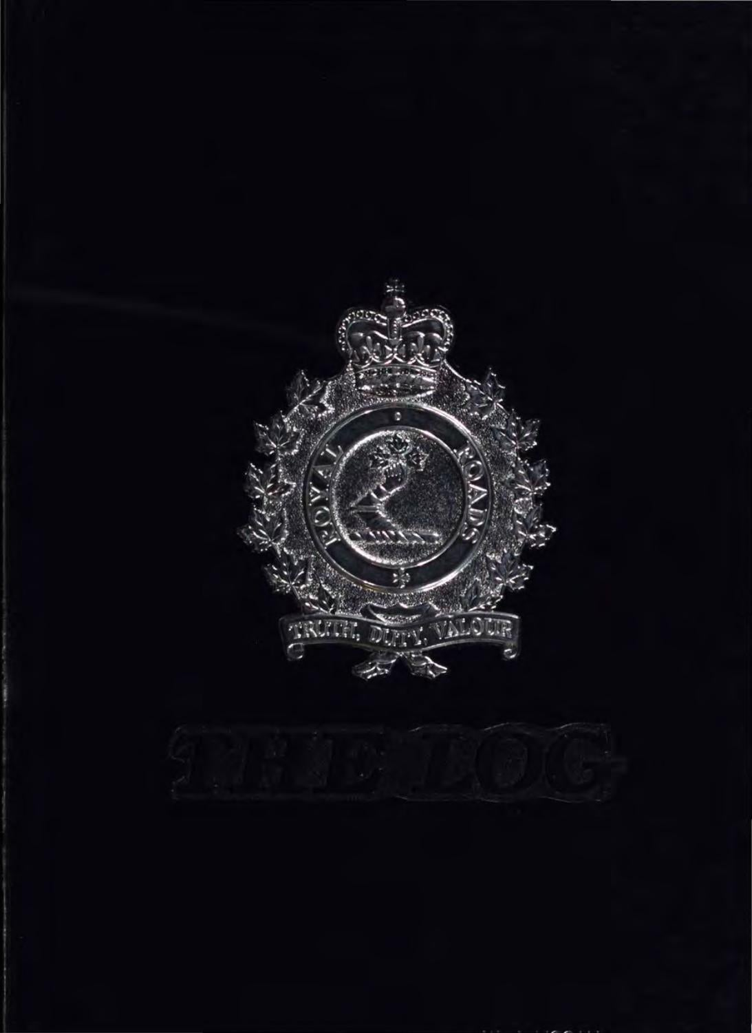 1986 Log Royal Roads MIlitary College by Royal Roads ...