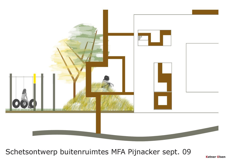 Design for schoolarea in pijnacker nl by ketner olsen issuu - Hek begroeide ...