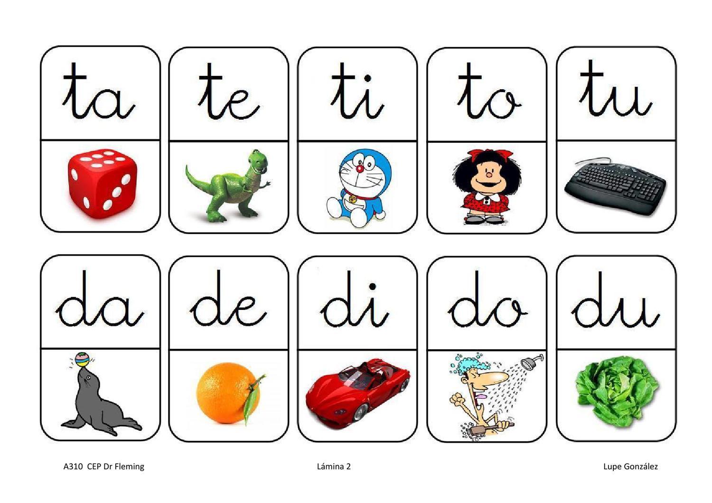 Domino De Silabas 2 By Biblioteca Do CEP Dr. Fleming