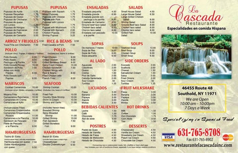 Share Restaurant Menu