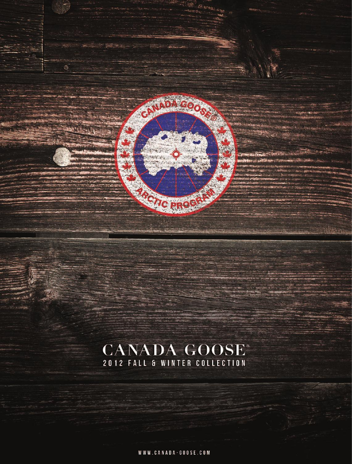Canada Goose hats outlet official - Canada Goose catalogue winter 2011/12 by Sport Koncept s.r.o - issuu
