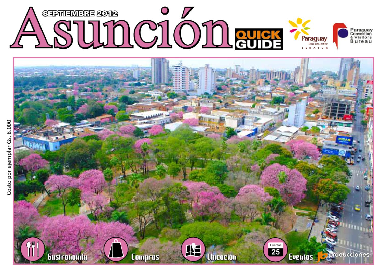 Asunci n quick guide set oct by juan bai issuu for Delivery asuncion