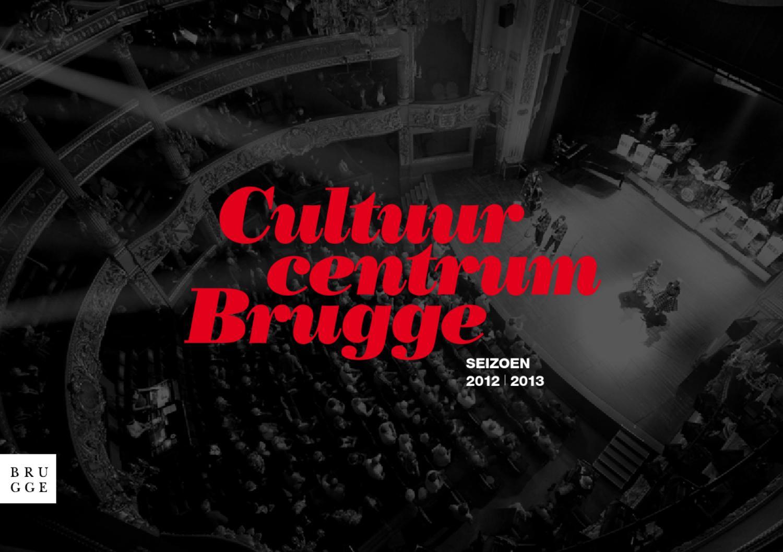 Jubileumbrochure Cultuurcentrum Brugge 20 jaar by Pieter Brabant ...