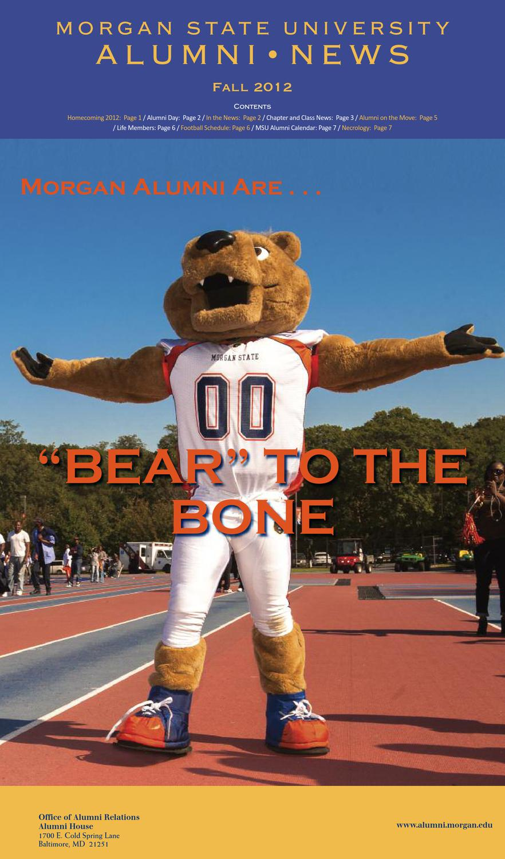 Alumni News Fall 2012 by Morgan State University - issuu