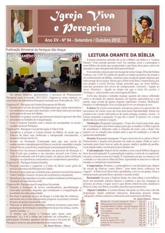 [Igreja Viva e Peregrina – Setembro/Outubro 2012]