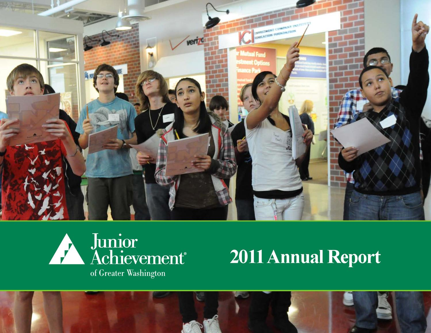 junior achievement annual report by david bing issuu