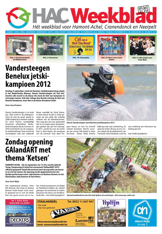 Hamont achel nederland geplande evenementen