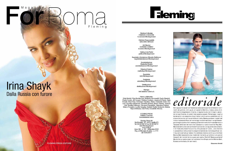 For roma fleming edizione settembre 2012 by 4mag magazine - Elisabetta diva futura ...