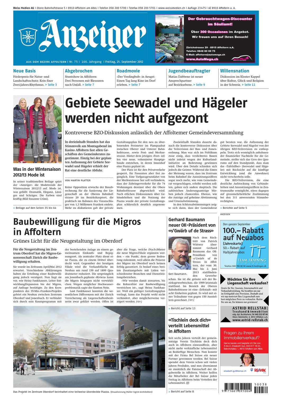 075 2012 By Az Anzeiger Issuu