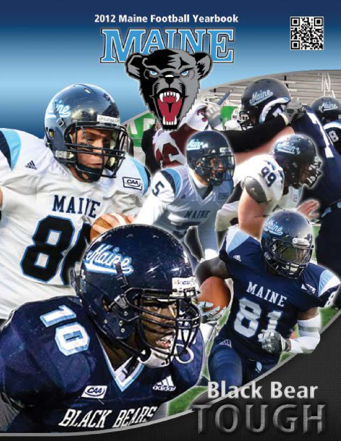 2012 Maine Football Guide by University of Maine Athletics ...