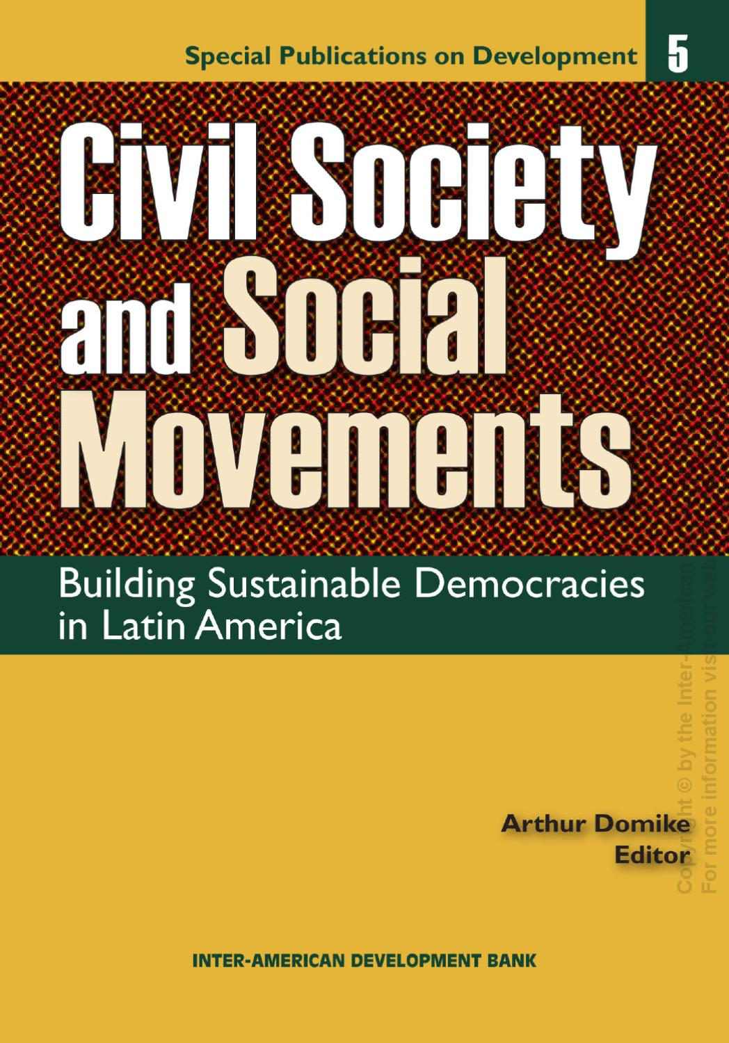 an analysis of the sustainability of democracy in latin america