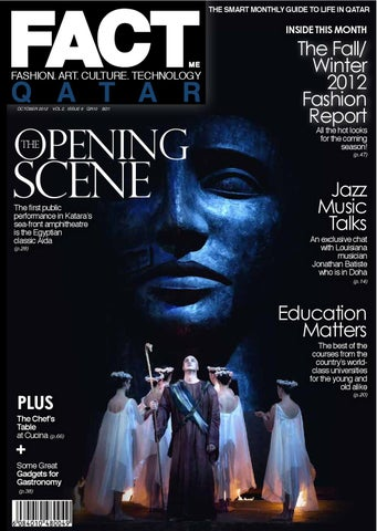 FACT Magazine Qatar October 2012